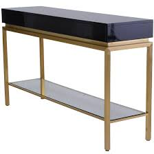 Black console table Foyer Isabella Console Table Black Sleek Modern Furniture Isabella Modern Console Table Black