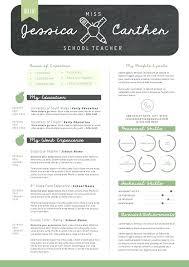 Free Teacher Resume Templates Custom Creative Resume Layout Creative Ideas Free Teacher Resume Template
