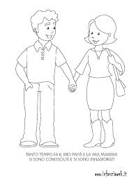 Disegni Da Colorare Categoria Schema Corporeo Immagine Mamma