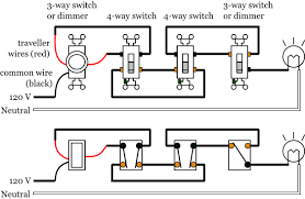 how to wire a dimmer switch diagram 3 way dimmer switch on both ends at How To Wire 3 Way Dimmer Switch Diagram