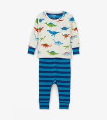 Hatley Baby Size Chart Dino Herd Organic Cotton Baby Pajama Set