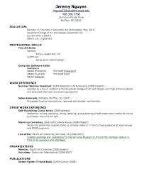 How To Make A Resume For A Highschool Student Noxdefense Com