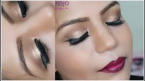 how to do stani indian bridal makeup gold eye for wedding superprincessjo