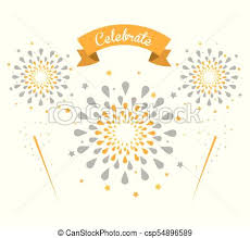 Firework Celebrations And Congratulations