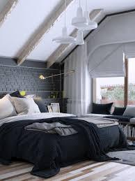 Bedroom Designs: Monochromatic Bedroom With Artwork - Bedroom Textures