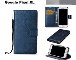 google pixel xl case embossed pu leather wallet elephant pattern nvy trade me