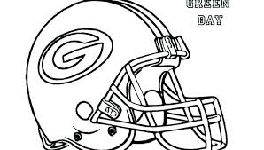 Broncos Football Coloring Pages Football Helmet Coloring Pages