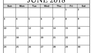 printable monthly blank calendar 2018 june calendar printable monthly template june 2018 calendar