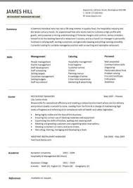 It has to prove your food service mastery and skills by focusing on your relevant restaurant achievements. Free Resume Templates Resume Examples Samples Cv Resume Format Builder Job Application Skills