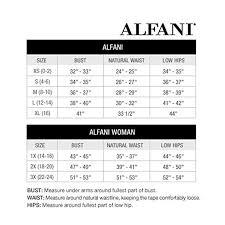 Alfani Tummy Control Bright White Pants Size 4 At Amazon