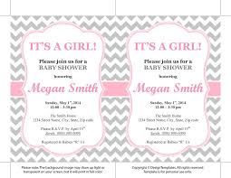 baby shower invite template word free girl baby shower invitation templates best 25 printable ba