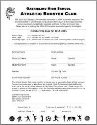 Membership Gabrielino Athletic Boosters
