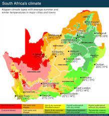 Afrika, Güney Afrika hava harita Güney Afrika - Güney Afrika hava haritası  ( -)