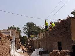 حياة كريمة.. بناء 85 سقفًا خشبيًا في سوهاج وقنا (صور)