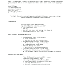 How To Make A Resume For First Job College Student Math Resume For
