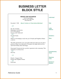 Business Letter Block Format Systematic Gallery Samples Helendearest