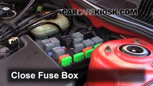 replace a fuse 1999 2005 pontiac grand am 2000 pontiac grand am 6 replace cover secure the cover and test component