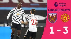 HIGHLIGHTS] คลิปไฮไลท์การแข่งขันฟุตบอลพรีเมียร์ลีก สัปดาห์ที่ 11 เวสต์แฮม 1  - 3 แมน ยู - YouTube