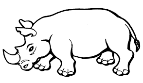 awesome rhino coloring page 71 in free coloring book with rhino coloring page