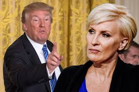 Trump calls out Mika s bleeding facelift in low blow tweetstorm.