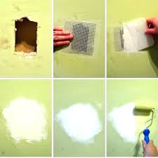 how to patch a hole in the wall with drywall repair small hole in drywall how