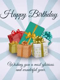 happy birthday gift bo card