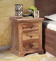 denzel bed stanfield solid wood bedside