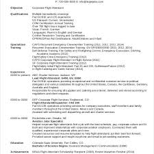 Download Entry Level Flight Attendant Resume