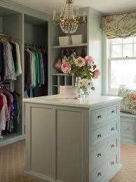 green shabby chic closet with paris flea market chandelier