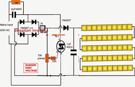 5630 smd led driver tube light circuit Led Circuit Diagrams in the shown circuit diagram all the leds are connected in series to form a chain of 50 leds connected one behind the other with anode of one led connected led circuits diagrams