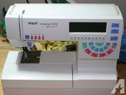 Used Pfaff Sewing Machine