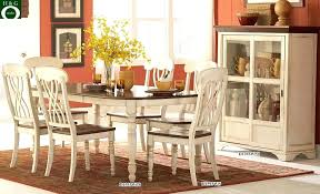 antique white round dining table formal dining room sets round dining table set with leaf extension
