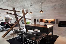 home office interior design. Marcel Breuer Chair Antique Desk Home Office Interior Design M