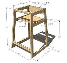 wooden restaurant style high chair wooden designs