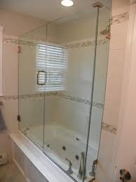shower design appealing sharp frameless glass shower doors pictures seairror tub bathroom door design more half designs enclosures bathtub