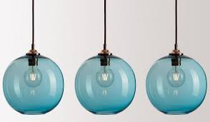 fabulous colorful pendant lights 10 easy pieces glass pertaining to blue plan 16