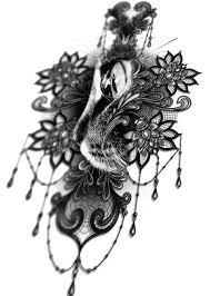 татуировки для девушек на бедре от мастеров Piglatattoo Studio днепр