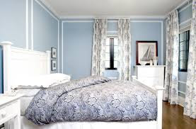 Light Blue Bedroom Curtains Bedroom With Blue Walls Nice Interior Design Themes Tips For You