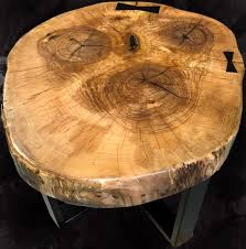 elm wenge table reclaimed wood slab