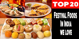 Chart Of Different Food Items Top 20 Festival Foods In India Crazy Masala Food