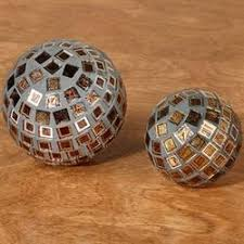 Decorative Orbs For Bowls Vase Filler Decorative Bowl Filler Touch of Class 35