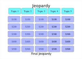 Sample Jeopardy Powerpoint Gorgeous Jeopardy Presentation Template Board Simple Blank Smart Powerpoint