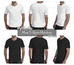 mockup t shirt men tshirt mockup png psd front back perspective