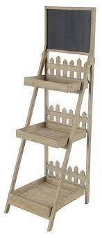 Wooden Ladder Display Stand Adorable Wood Ladder Shelf Chalkboard Google Search Display Pinterest