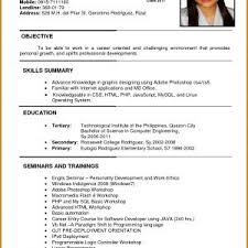 Job Application Resume Best Of Resume Example For Job Application In Malaysia New Resume Example