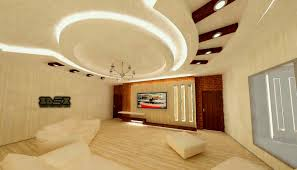 new lighting ideas. Pop False Ceiling Designs For Living Room Hall With Led Indirect Lighting Ideas New Roof Design