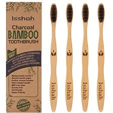 <b>Biodegradable</b> Eco-Friendly Natural <b>Bamboo</b> Charcoal <b>Toothbrushes</b>