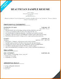 Cosmetologist Resume Template Best Cosmetology Resume Templates Ramautoco
