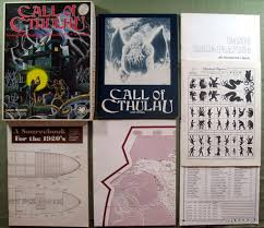 Cthulhu Size Comparison Chart Call Of Cthulhu Core Books Waynes Books Rpg Reference