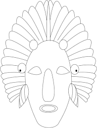 Small Picture Red Indian printable coloring page for kids Coloring Printable